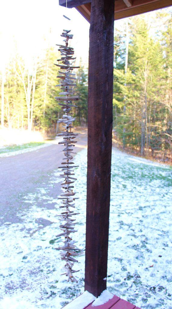 Driftwood Rain Chain Decorative Driftwood by
