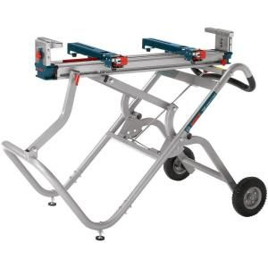 Bosch Gravity-Rise Miter Saw Stand with Wheels-T4B at The Home Depot : $299