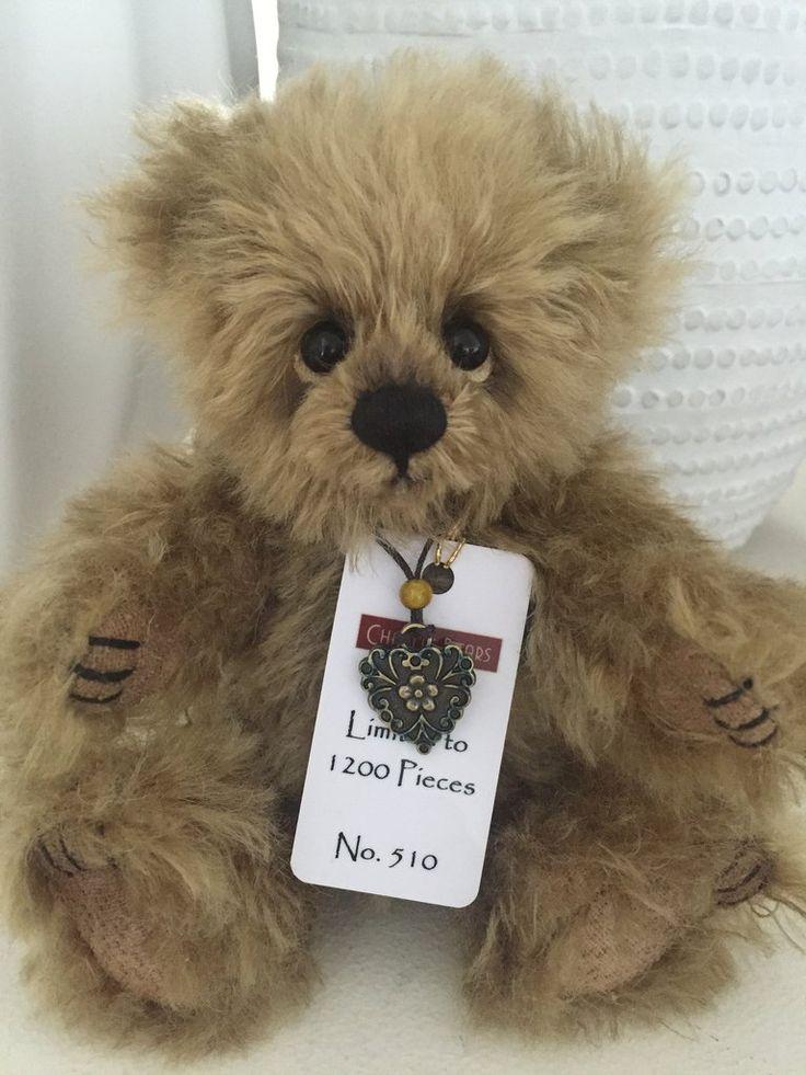 Flute Minimo Mohair Teddy Bear