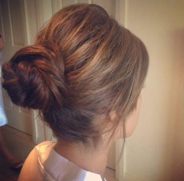 Simple & Teased Bun - Hairstyles How To