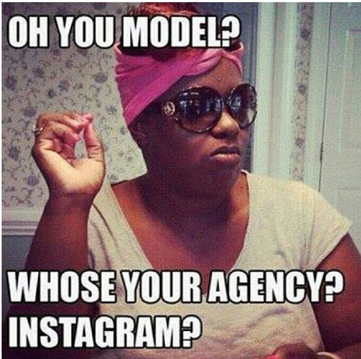 You model??