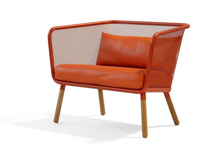 HONKEN Leather small sofa by Blå Station design Stefan Borselius, Thomas Bernstrand, Johan Lindau