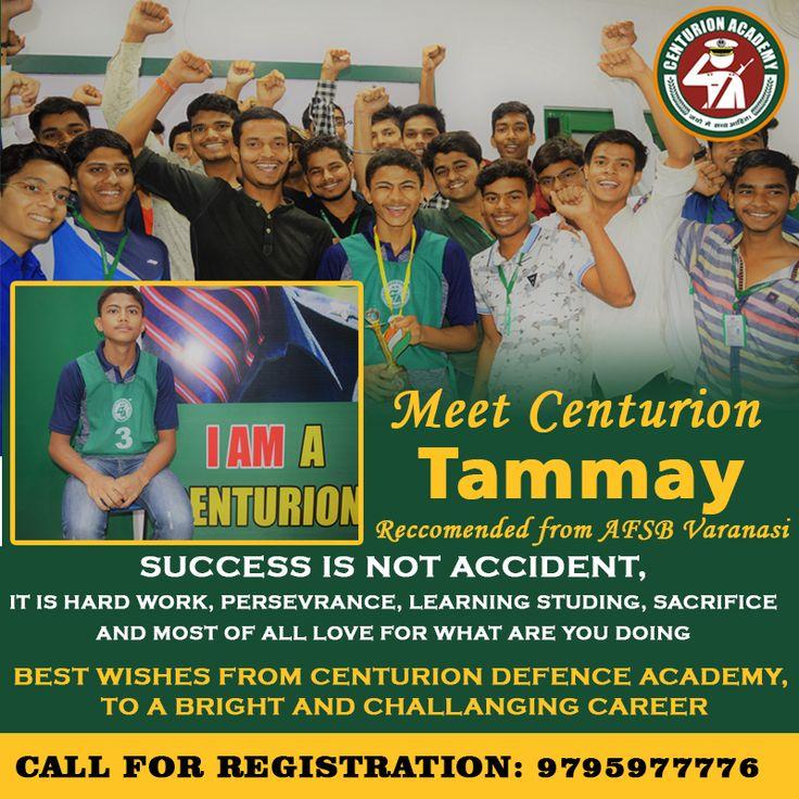 Meet Centurion Tammay , from Air Force