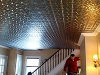 whether you are looking for metal ceiling tiles or tin backsplash we have them all - Metal Ceiling Tiles