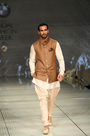 Indian Groom Wear - WedMeGood #groomwear #nehrujacket #jodhpuripants… More