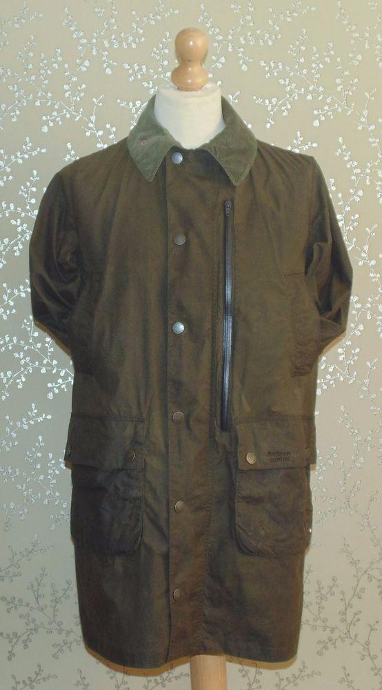 Barbour Mens Vintage International Leather Jacket Ebay Â« Heritage ... : barbour quilted jacket ebay - Adamdwight.com