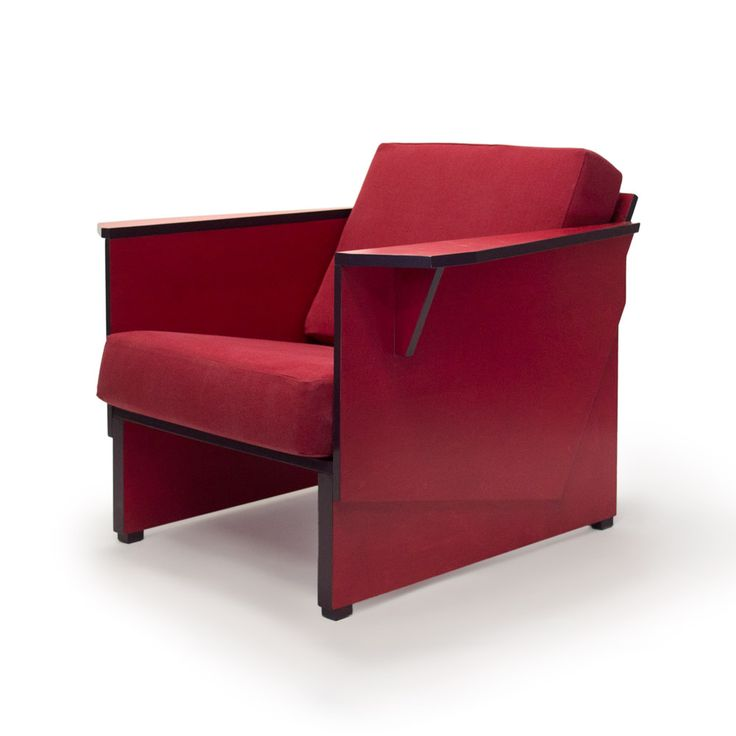 Red armchair -- Rode fauteuil