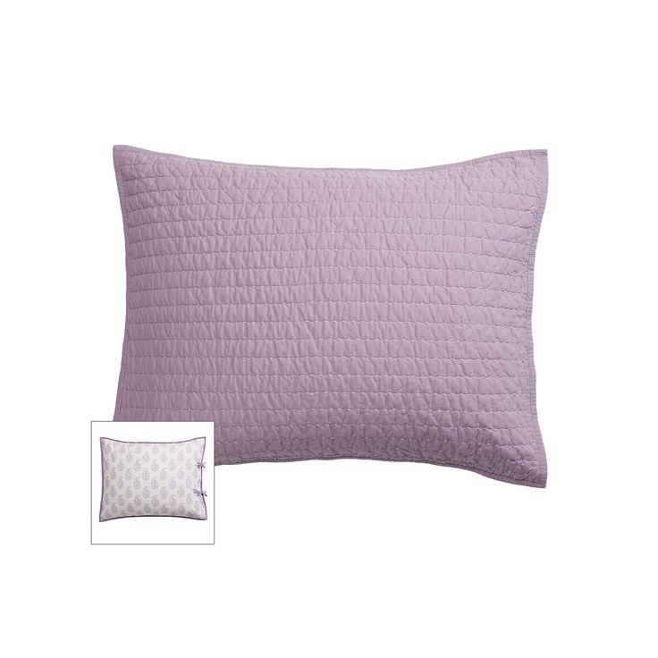 SONOMA Goods for Life™ Pick Stitch Reversible Sham, Purple