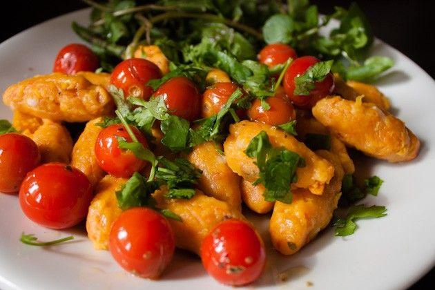 Kuerbis Gnocchi ... das kommt gerade recht, da weiß ich ja, was es morgen zum Essen gibt :-)