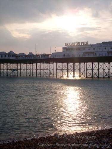 Brighton Beach, England. #brighton