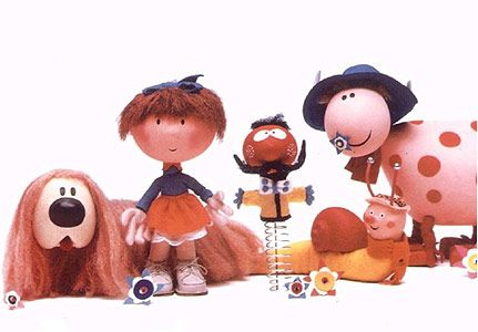 The Magic Roundabout - it wasn't until much later in life I realised Dylan was stoned! Actually i think they were all on some mind-altering drug! LOL