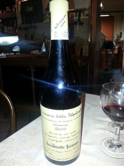 Amarone della Valpolicella - #Ristorante Settimio all'Arancio #Roma