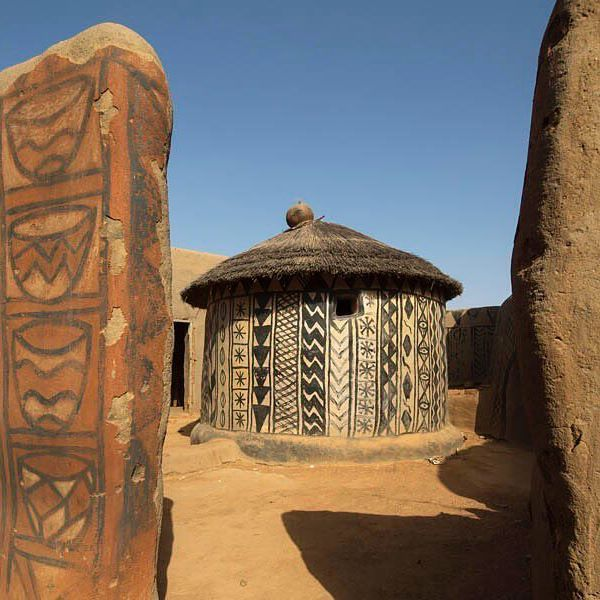Cour Royale. Tiebelé. #africa #arquitectura #pepenavarro