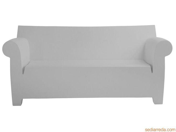 Bubble Club Sofa - Divano Kartell di design, in grigio