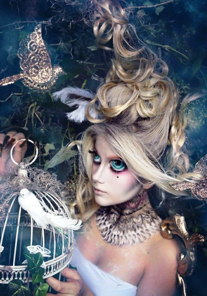 25 latest fairy halloween makeup inspiration - Fairy Halloween Makeup Ideas