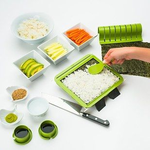 This very easy sushi-making kit ($33). | 27 Gifts For People Who Care More About Food Than They Do You