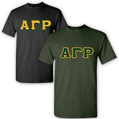 Alpha Gamma Rho Fraternity 2 T-Shirt Pack - Gildan 5000 - TWILL