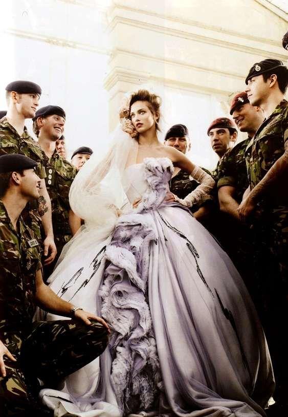 The Vogue UK Wedding spread