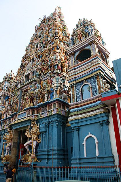 Colombo, Sri Lanka. Hindu temples flood the city. A place full of life.