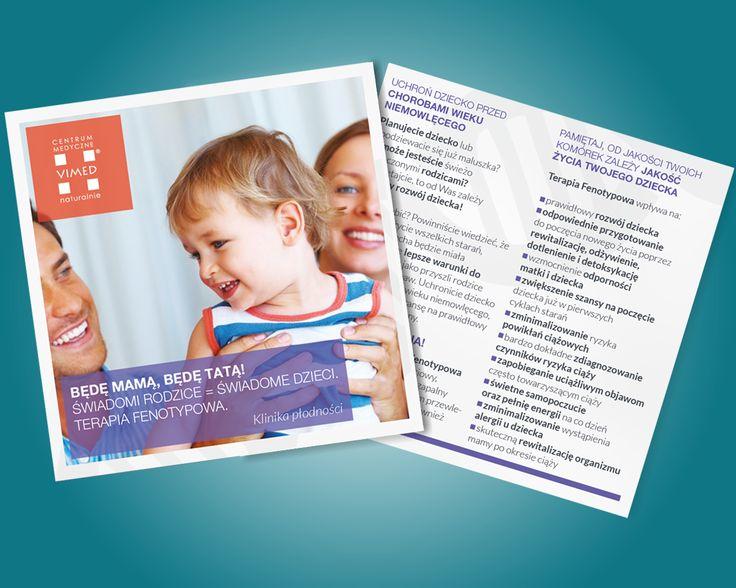 leaflet for medical center