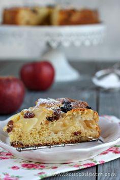 Torta di mele e uvetta – La Cuoca Dentro