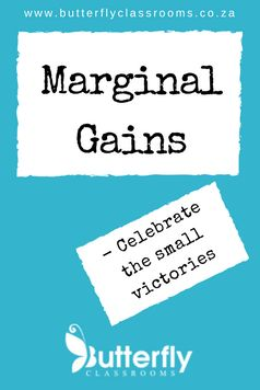 Often we focus so much on the big targets that we miss the little victories along the way. This series celebrate these Marginal Gains.