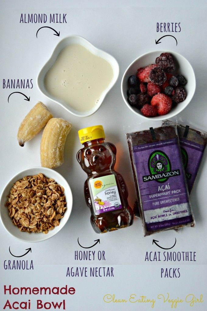 How to Make an Acai Bowl.. For more delish bfast recipes check out our blog: