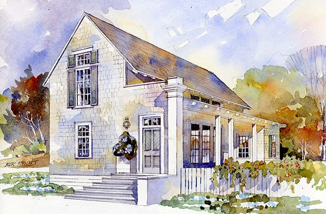 New plan by architect bill ingram spacious yet small for Charleston house plans