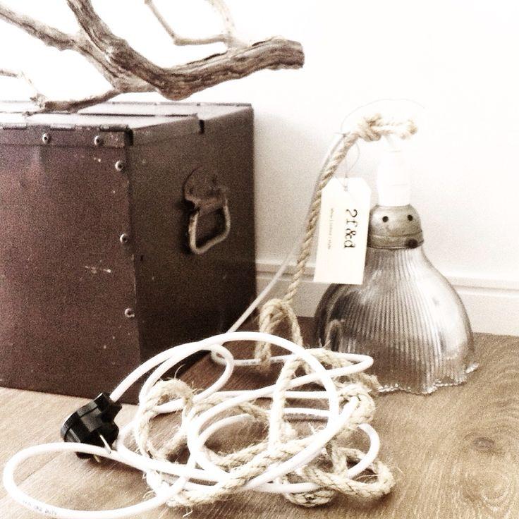 | vintage pendant lamp - 2f&d style |  www.2findanddesign.com @2findanddesign