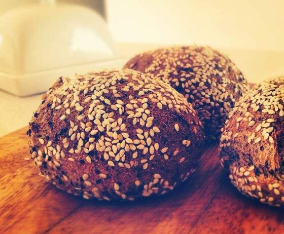 Recipe Super Soft Paleo Grain-free Seed Bread Rolls by Julify - Recipe of category Breads & rolls