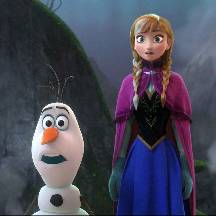 Anna and olaf meet kristoff 39 s family of trolls disney - Frozen anna and olaf ...