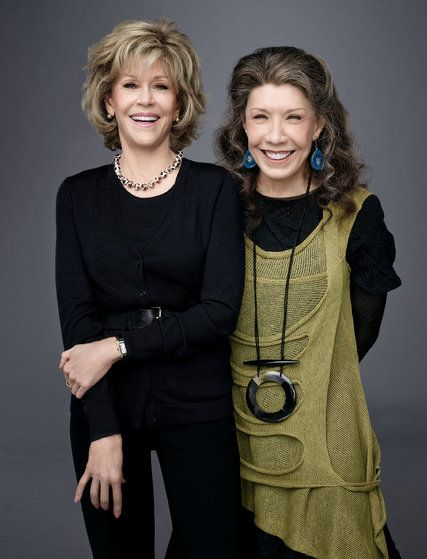 Jane Fonda and Lily Tomlin, Together Again, in 'Grace and Frankie' By JOHN KOBLIN 4/23/15 - NYTimes.com Netflix