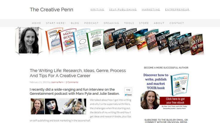 Top 30 website for authors to learn about self publishing