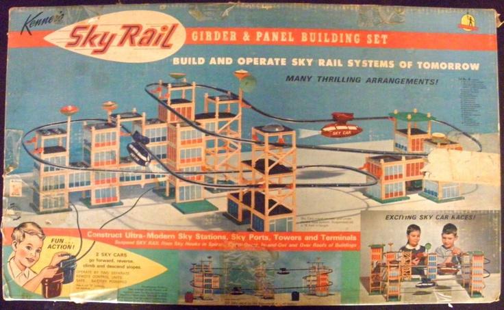 Kenner 1965 Sky Rail Girder And Panel Building Set