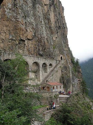 Sümela Monastery .  Cevizlik, Trabzon, Turkey