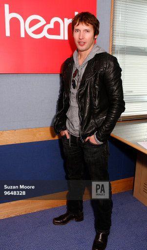 James Blunt visits Heart FM at Global Radio in London (20 10