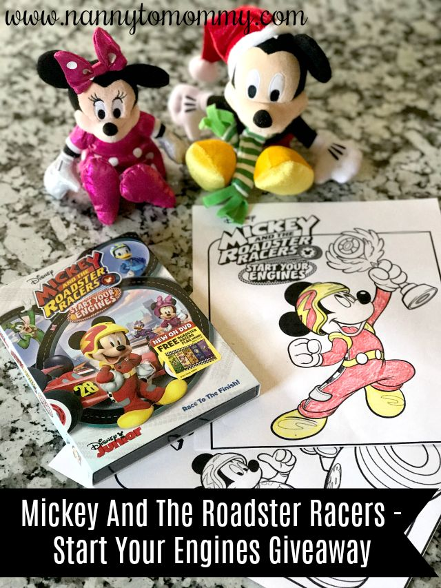 Mickey And The Roadster Racers - Start Your Engines - $25 Disney e ...
