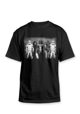 Hybrid   Star Wars Bad Guys Line Up Graphic Tee