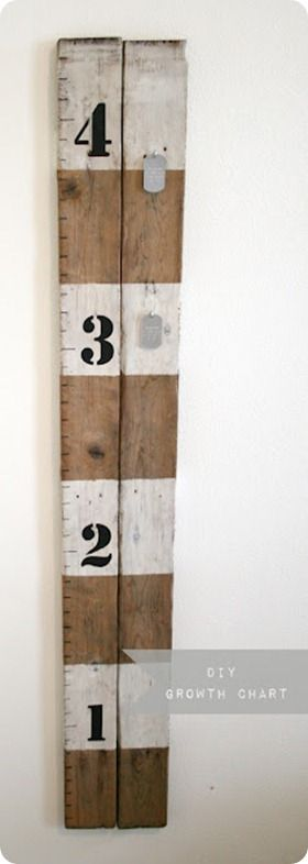 diy ruler growth chart: Silhouette Art, Crafts Ideas, Growth Charts Wal, Wood Growth Charts, Growth Charts For Kids, Ruler Growth Charts, Baby Shower Gifts, Pallets, Diy Growth