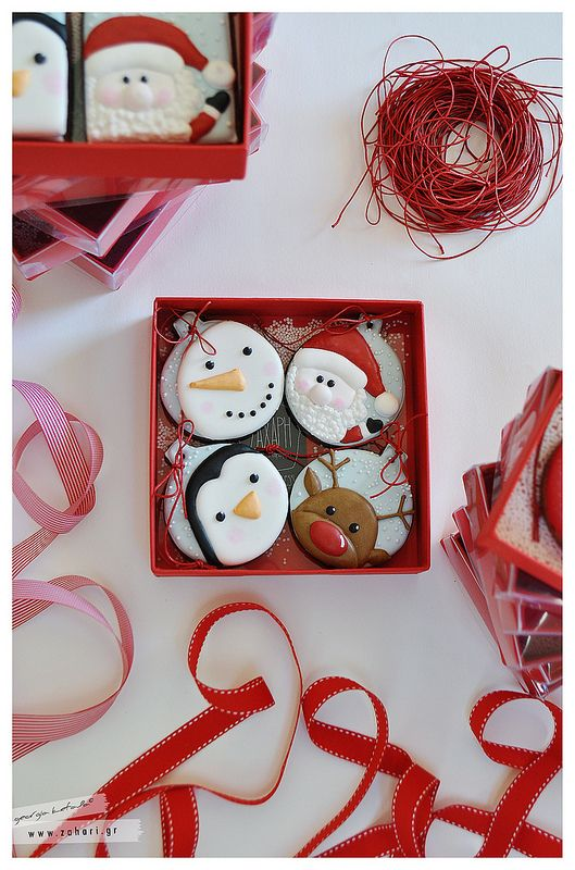 biscuit baubles, christmas cookies, ornament cookies, santa cookies, snowman cookies, penguin cookies, funny christmas cookies.