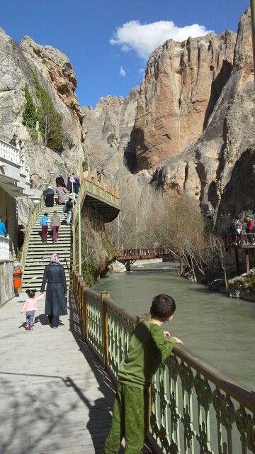 Darende de Tohma kanyonu Türkiye