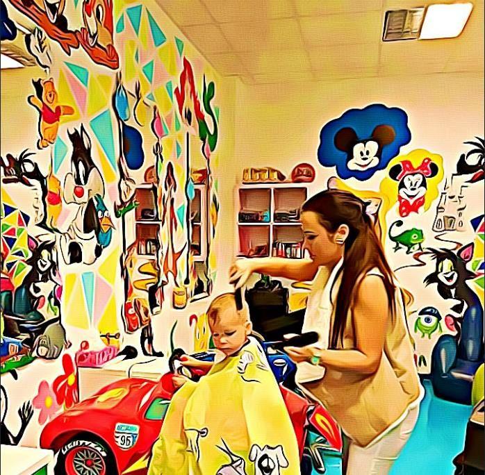 Vstúpte s nami do rozprávky, tu sa dejú zázraky!💖 #detskekadernictvo #wonderland #fairytale #new #haircut #happy #kids