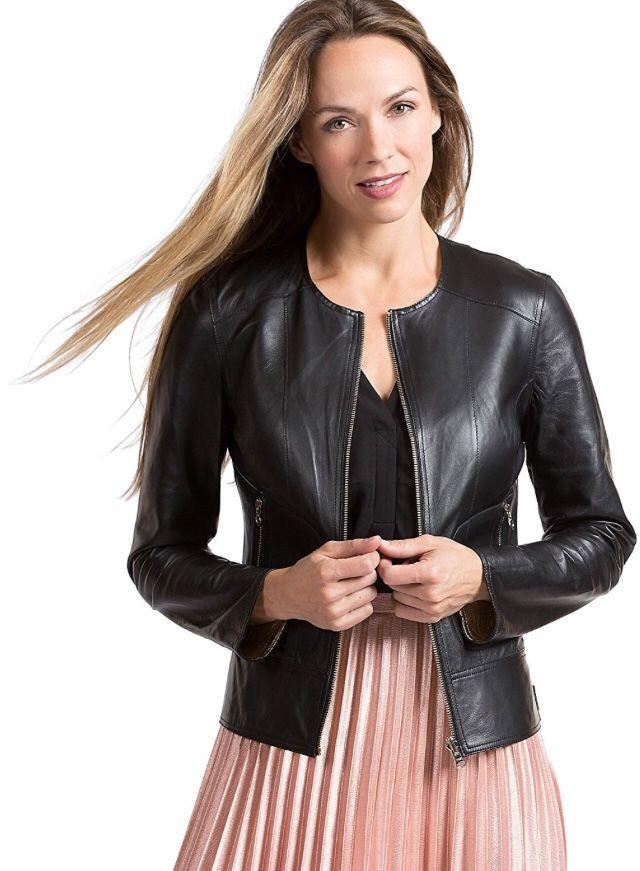 Mona Lambskin Leather Moto Jacket AUD$226 Free shipping all over the world. #leatherjacket #lambskin #biker #leather #black #blacknwhite_perfection #fashion #fashionblogger #urbanwear #onlineshopping #streetwear #rockstar #bikerjacket #women #melbournefashion #leatherwear #aboutalook #designer #outfitideas #yourstyle #fresh #newyearseve #fashiondesigner #Austrailia  Visit: www.leatherwear.com.au