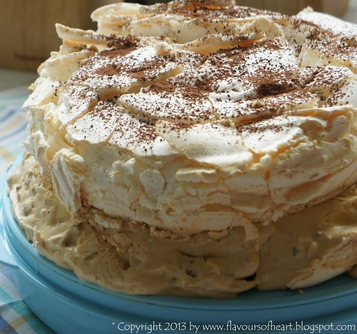 #meringue #cake #daquas