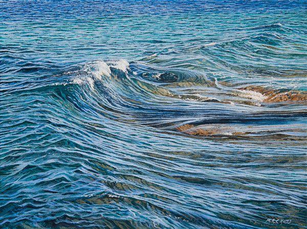Mark Cross - New Zealand Born contemporary realist artist