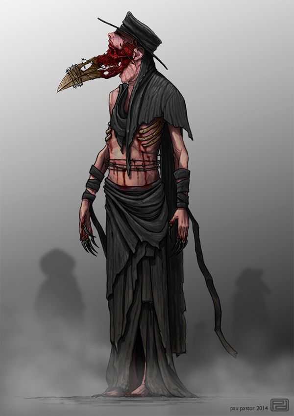 Design of a Plague Doctor for a Pc game