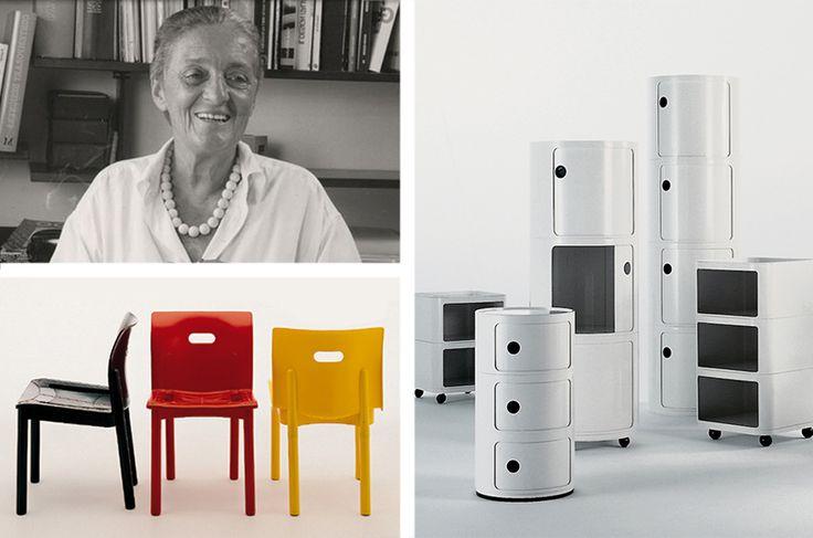 La plastica e il design innovativo di Anna Castelli Ferrieri per Kartell: http://bit.ly/1ATZTZh