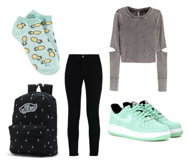 """Hunger"" by eline-storli on Polyvore featuring H&M, STELLA McCARTNEY, NIKE, Vans and Forever 21"