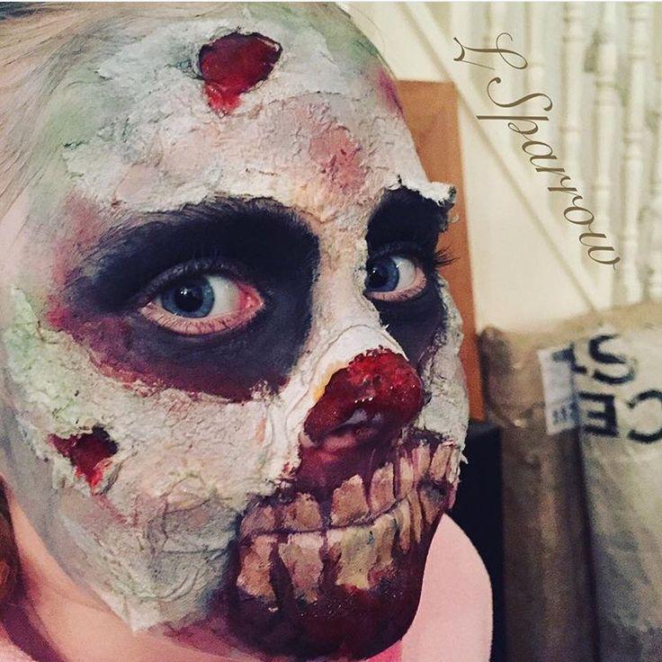 My zombie special fx! Follow me @ Facebook- L.Sparrow Designs ~ Instagram @LSPARR212