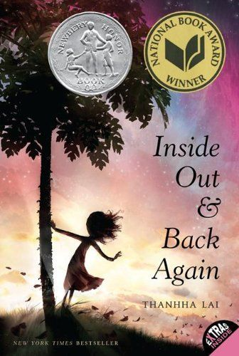 (A Read Aloud - Age 8: 3rd grade) Inside Out and Back Again by Thanhha Lai, http://www.amazon.com/dp/0061962791/ref=cm_sw_r_pi_dp_yZ6orb1F14H8D